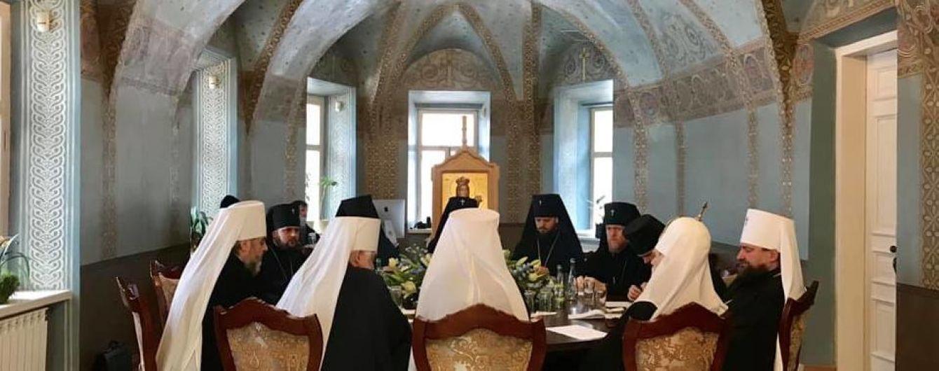 На первом синоде ПЦУ заговорили о проведении поместного собора в 2019 году