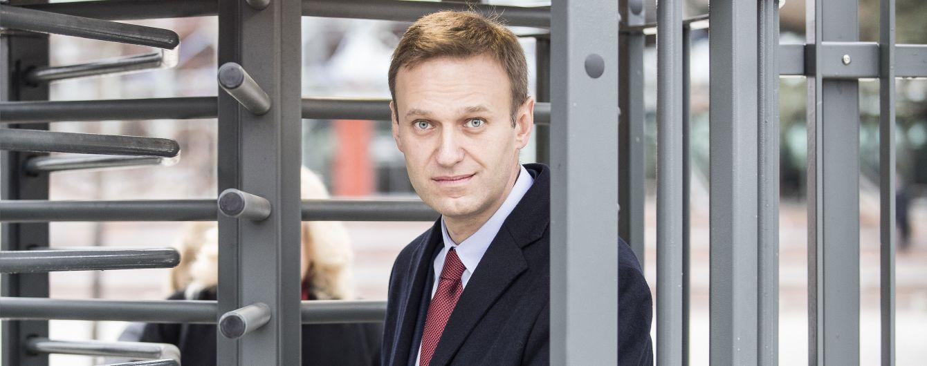 У Москві вчергове затримали Навального