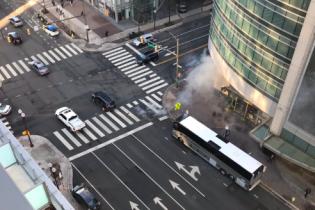 В Вашингтоне эвакуировали пассажиров метро из-за взрыва трансформатора и пожар