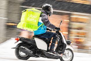 В Киеве запустили международный сервис доставки еды Uber Eats