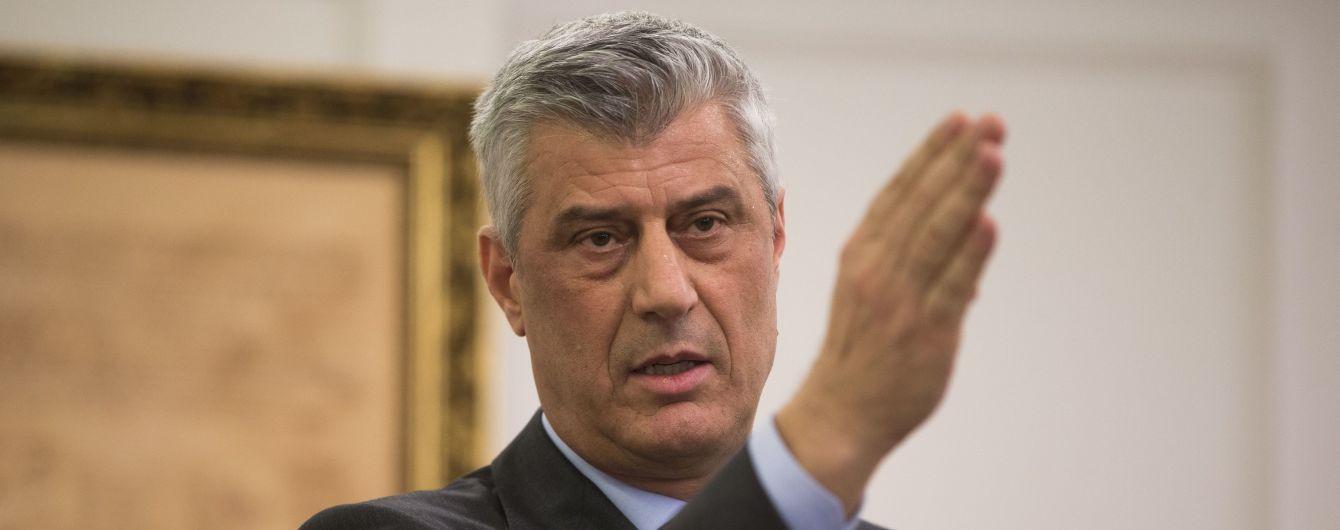 Косово может отдать часть территории Сербии в обмен на признание - президент