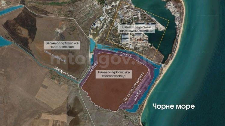 Незаконний видобуток піску в Керчі