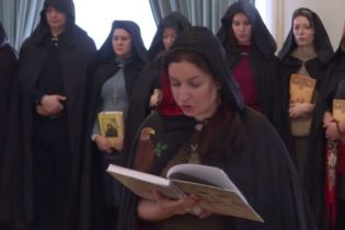 В Москве ведьмы устроили шабаш в поддержку Путина