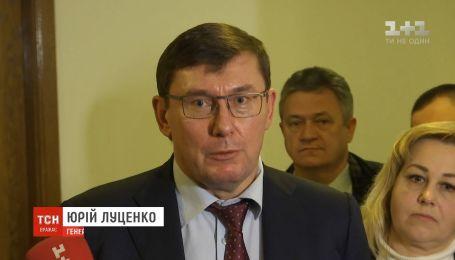 Подозрение Медведчуку могут вручить после проведения лингвистического анализа его заявлений - Луценко