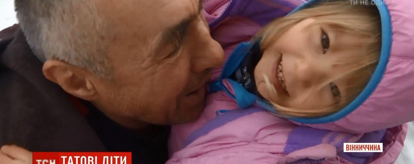 Возле Винницы 56-летний мужчина в одиночку воспитывает четырех детей