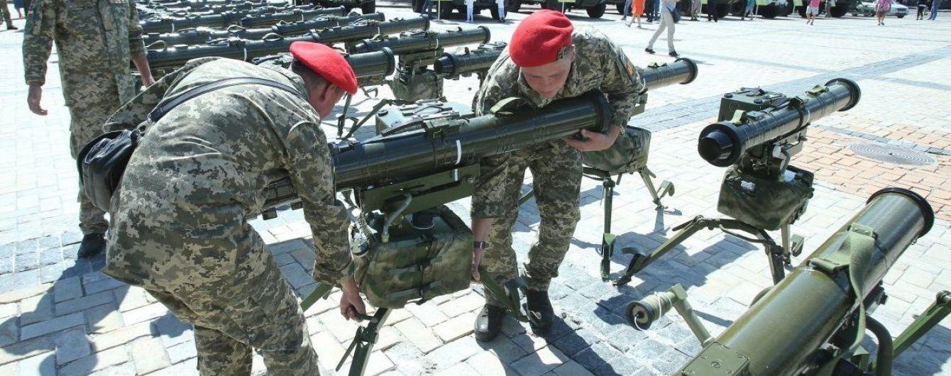 """Знищення блокпосту бойовиків на Донбасі: українські військові застосували вітчизняну """"Стугну"""""""