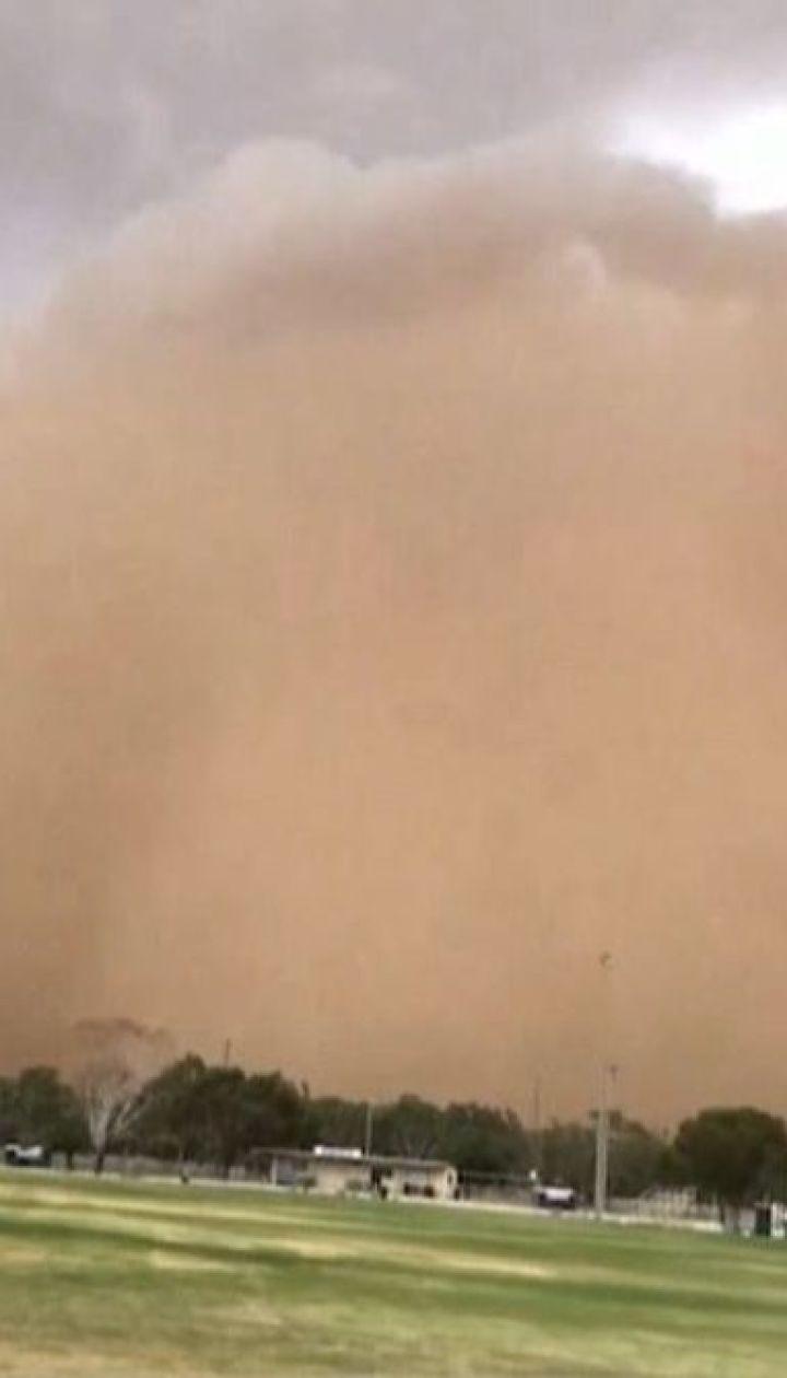 Юг Австралии накрыли песчаные бури