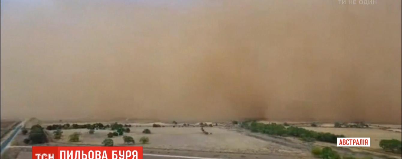 Австралию накрыли песчаные бури. Жителей просят не выходить на улицу