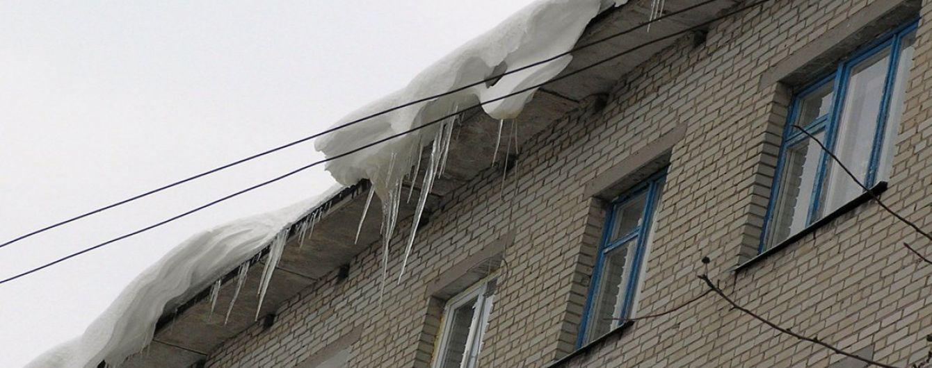 В Полтаве кусок льда убил пенсионера