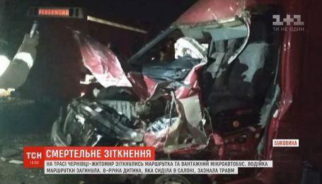 Один человек погиб в результате столкновения пассажирского и грузового микроавтобуса