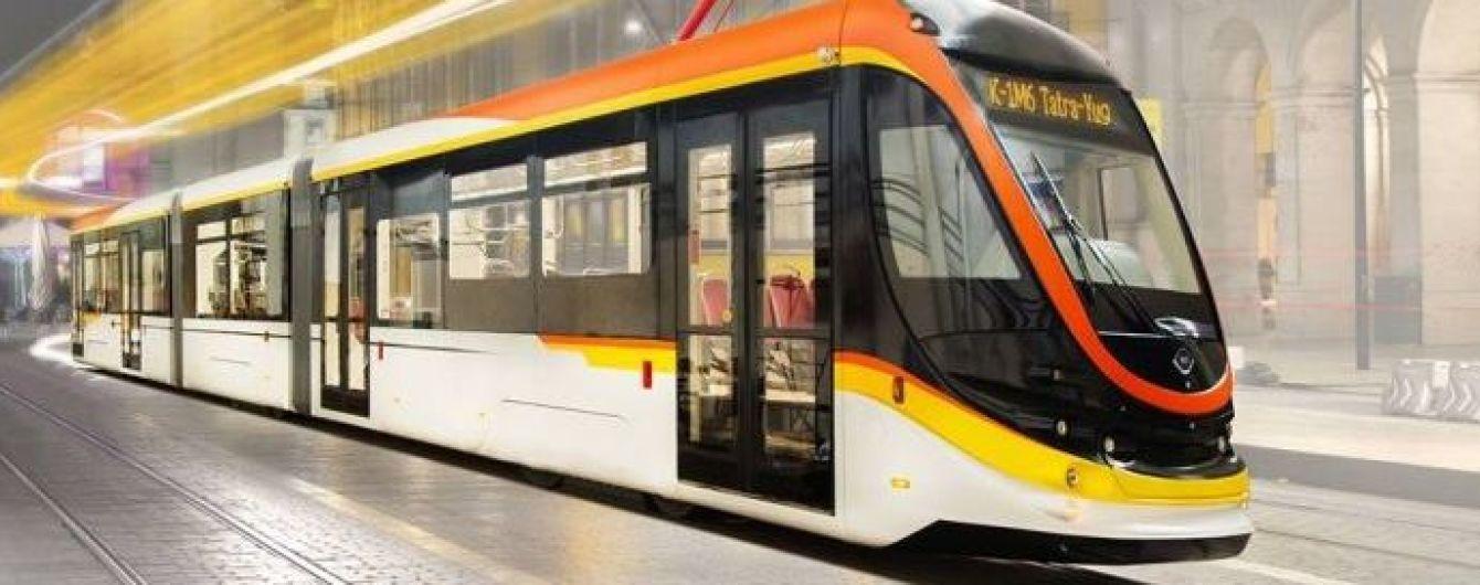 В Египет прибыл первый украинский трамвай
