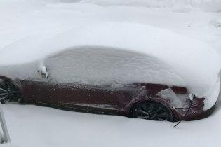 В Tesla не согласны с выводами о большом снижении заряда электрокара зимой