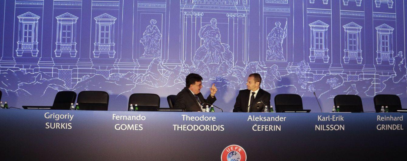 УЕФА не рассматривал вопрос отмены правила выездного гола