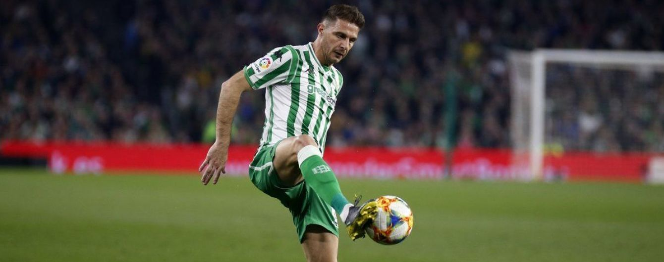 37-летний футболист отличился прямым ударом с углового в полуфинале Кубка Испании