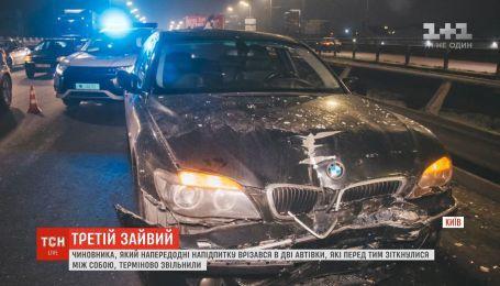 Кличко пообіцяв звільнити чиновника, який скоїв п'яну ДТП в Києві