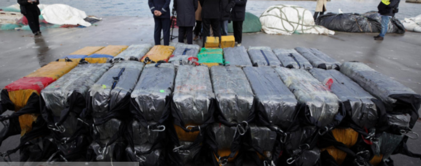 В Португалии задержали судно с украинскими моряками, перевозившее 2,5 тонны кокаина