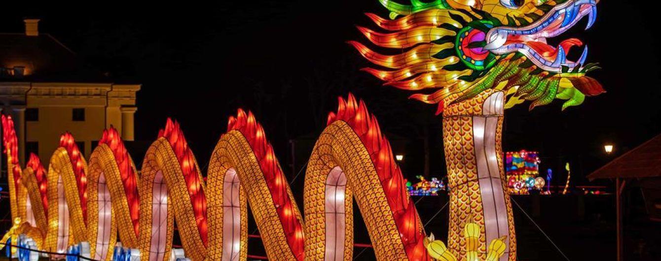 Фестиваль гігантських китайських ліхтарів: до Києва летить 40-метровий дракон