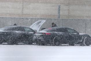 У порту Норвегії зняли електрокари Porsche Taycan