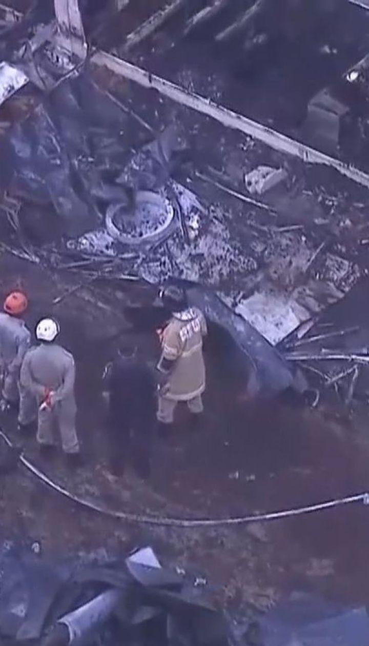 Щонайменше 10 людей згоріли в гуртожитку тренувальної футбольної бази в Ріо-де-Жанейро