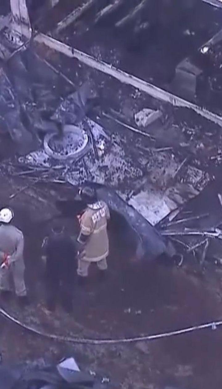 По меньшей мере 10 человек сгорели в общежитии тренировочной футбольной базы в Рио-де-Жанейро
