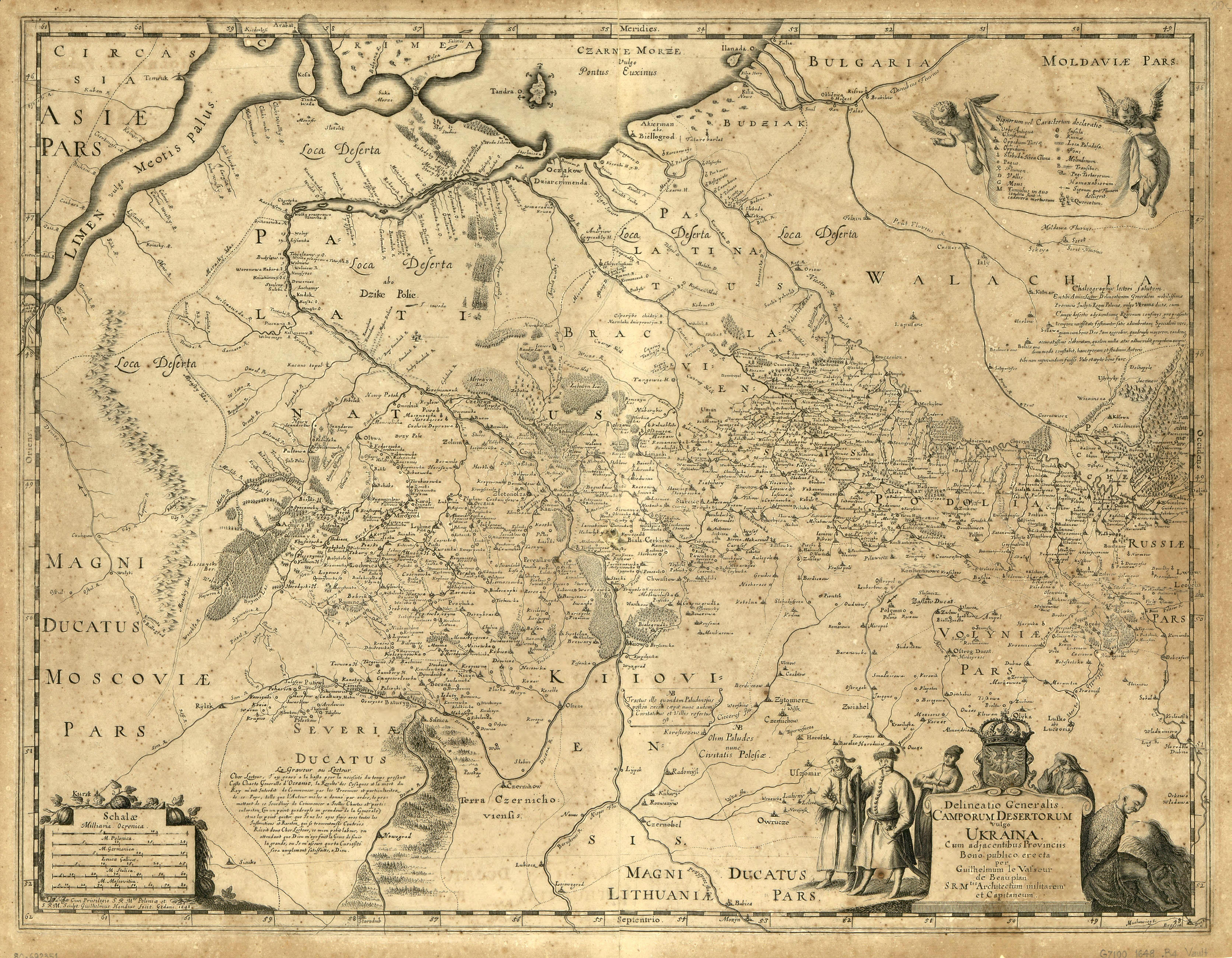 Генеральна карта України, для блогів