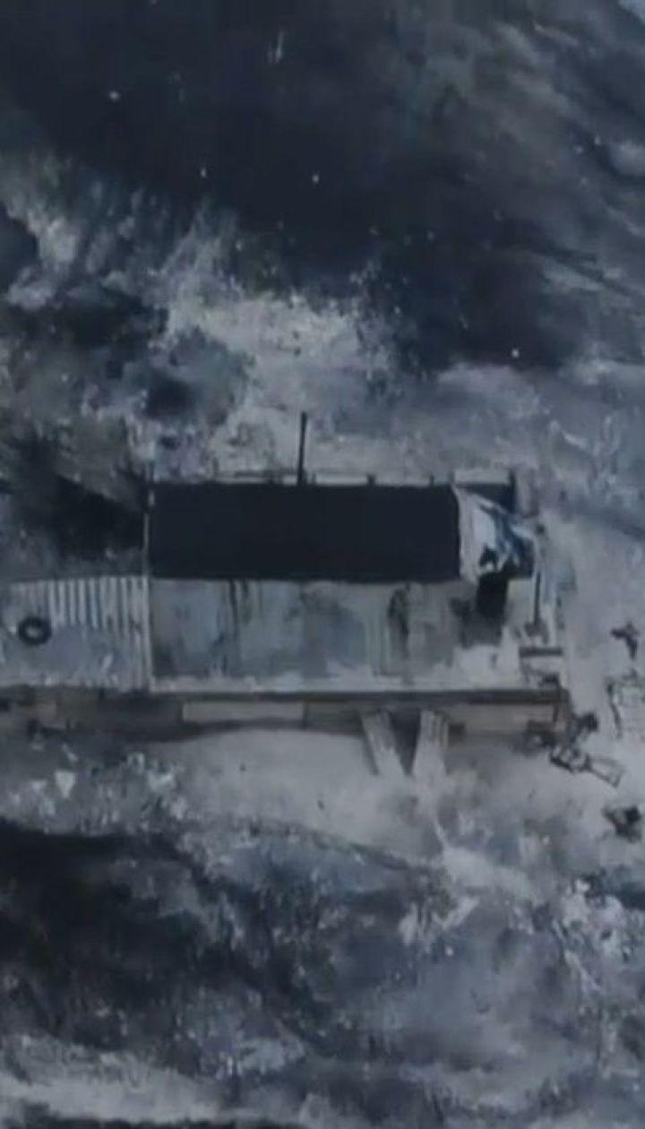 Боевики обстреляли из крупнокалиберных пулеметов КПВВ в Золотом