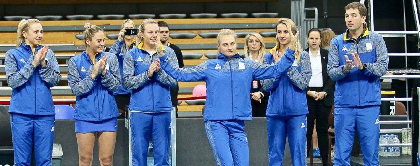 Збірна України поступилася Польщі в боротьбі за третю сходинку Кубка Федерації