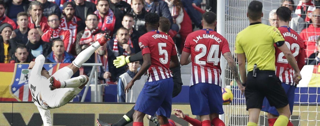 """""""Реал"""" в мадридском дерби разобрался с """"Атлетико"""" и вышел на вторую строчку"""