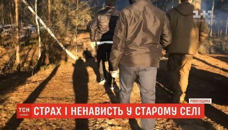 Шестеро мужчин расстреляли из автомата местного жителя в Ровенской области