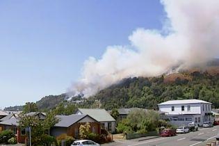 В Новій Зеландії через лісові пожежі довелося евакуйовувати тисячі людей