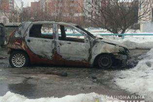 В Полтаве за ночь сожгли шесть машин