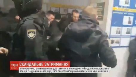 """""""Ложись, Бандера"""": чем закончилось задержание полицией активистов в Киеве"""