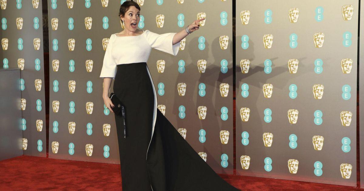 """Олівія Колман перемогла у номінації """"Найкраща жіноча роль"""" у фільма-переможці """"Фаворитка"""". @ Associated Press"""