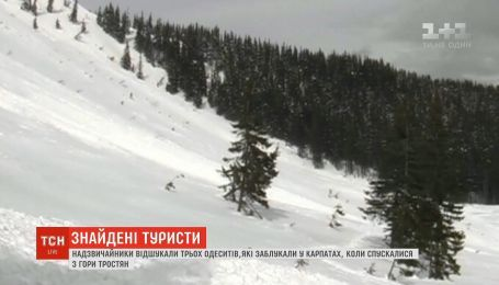 Рятувальники знайшли трьох туристів, які заблукали у Карпатах