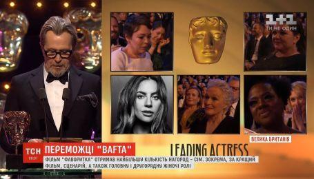 """Фільм """"Фаворитка"""" отримав найбільшу кількість нагород від Британської кіноакадемії"""