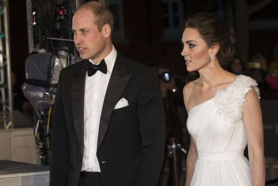 Принц Вільям та Кейт у сережках Діани приголомшили своєю появою на BAFTA-2019