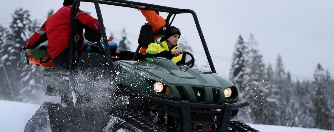 В Карпатах сохраняется высокая снеголавинная опасность