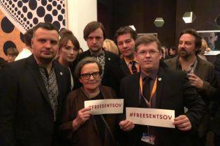 На Берлінале провели флешмоб на підтримку Сенцова