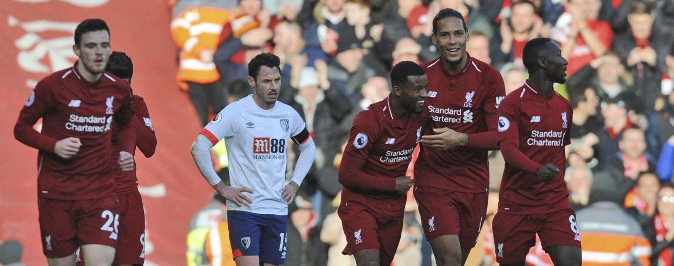 """Футболист """"Ливерпуля"""" признался, что едва добежал до туалета сразу после гола в ворота """"Борнмута"""""""