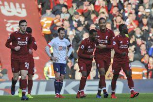 """Футболіст """"Ліверпуля"""" зізнався, що ледь добіг до туалету одразу після голу у ворота """"Борнмута"""""""