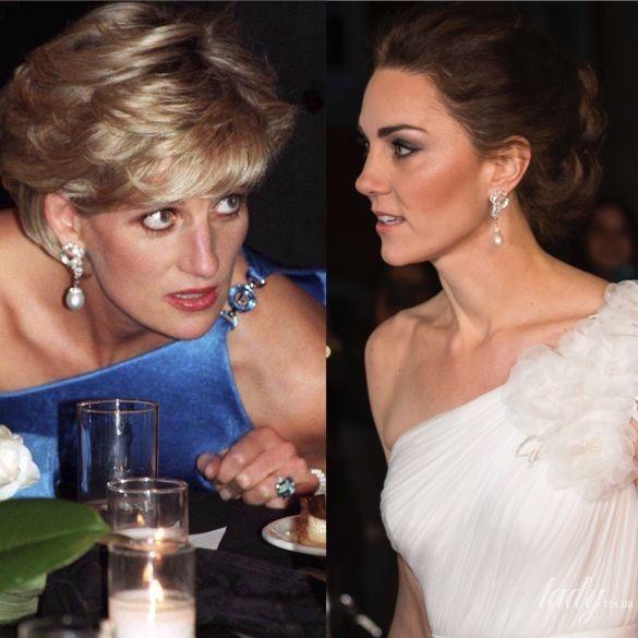 Принцесса Диана и герцогиня Кембриджская