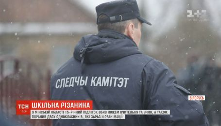 В Беларуси 15-летний подросток убил ножом учительницу и ученика
