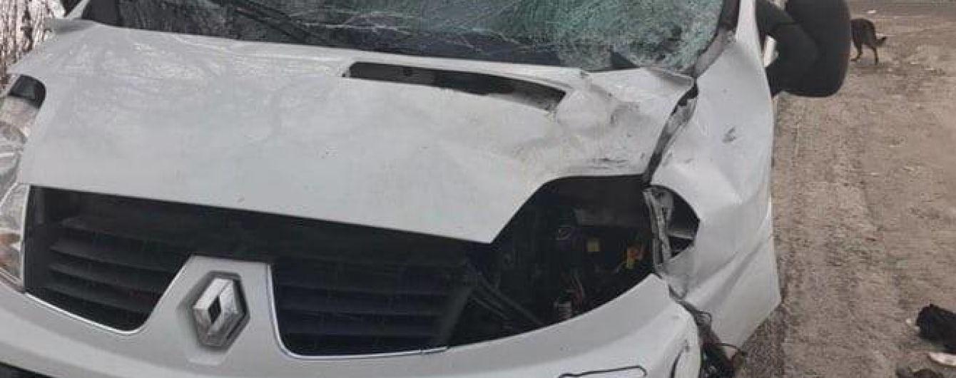 Под Киевом водитель буса Renault насмерть сбил пешехода и сбежал