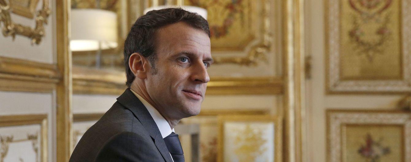 Франция создаст космические войска - Макрон