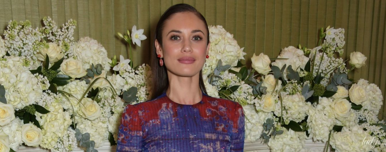 Один наряд – два события: Ольга Куриленко в полупрозрачном платье посетила светские мероприятия