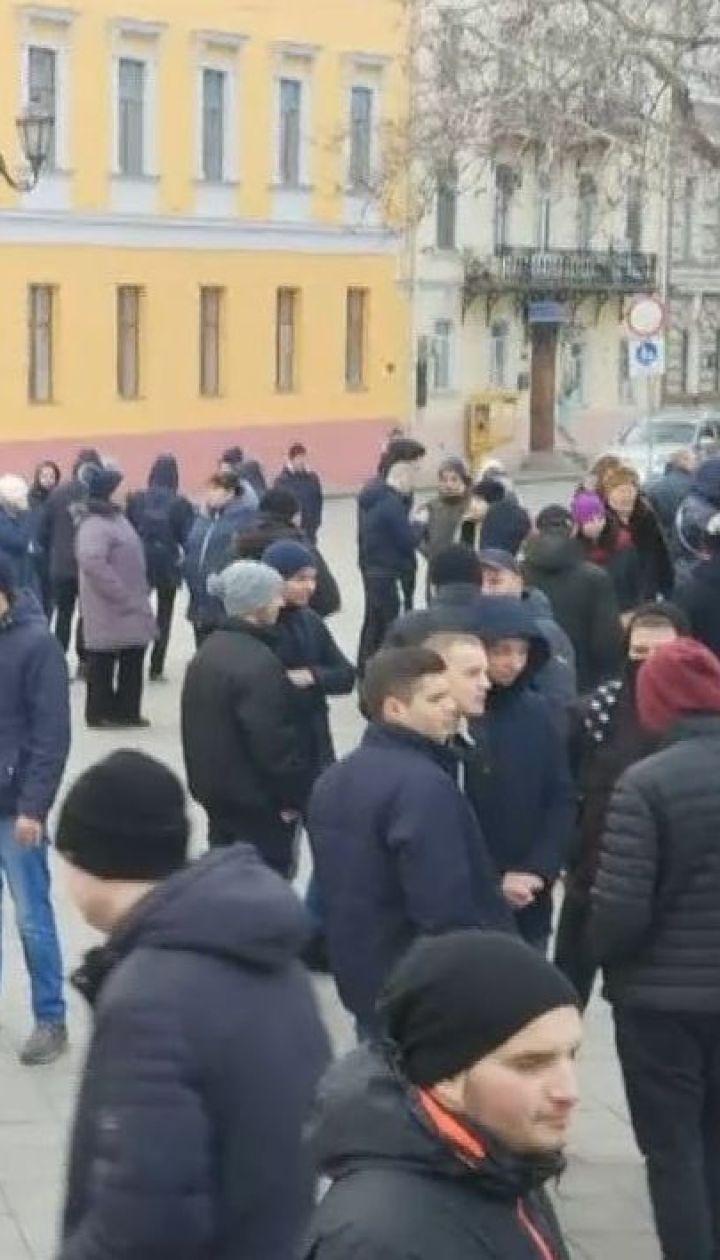 Предвыборный пранк: в Киеве и Одессе прошли митинги за кандидата, которого не существует