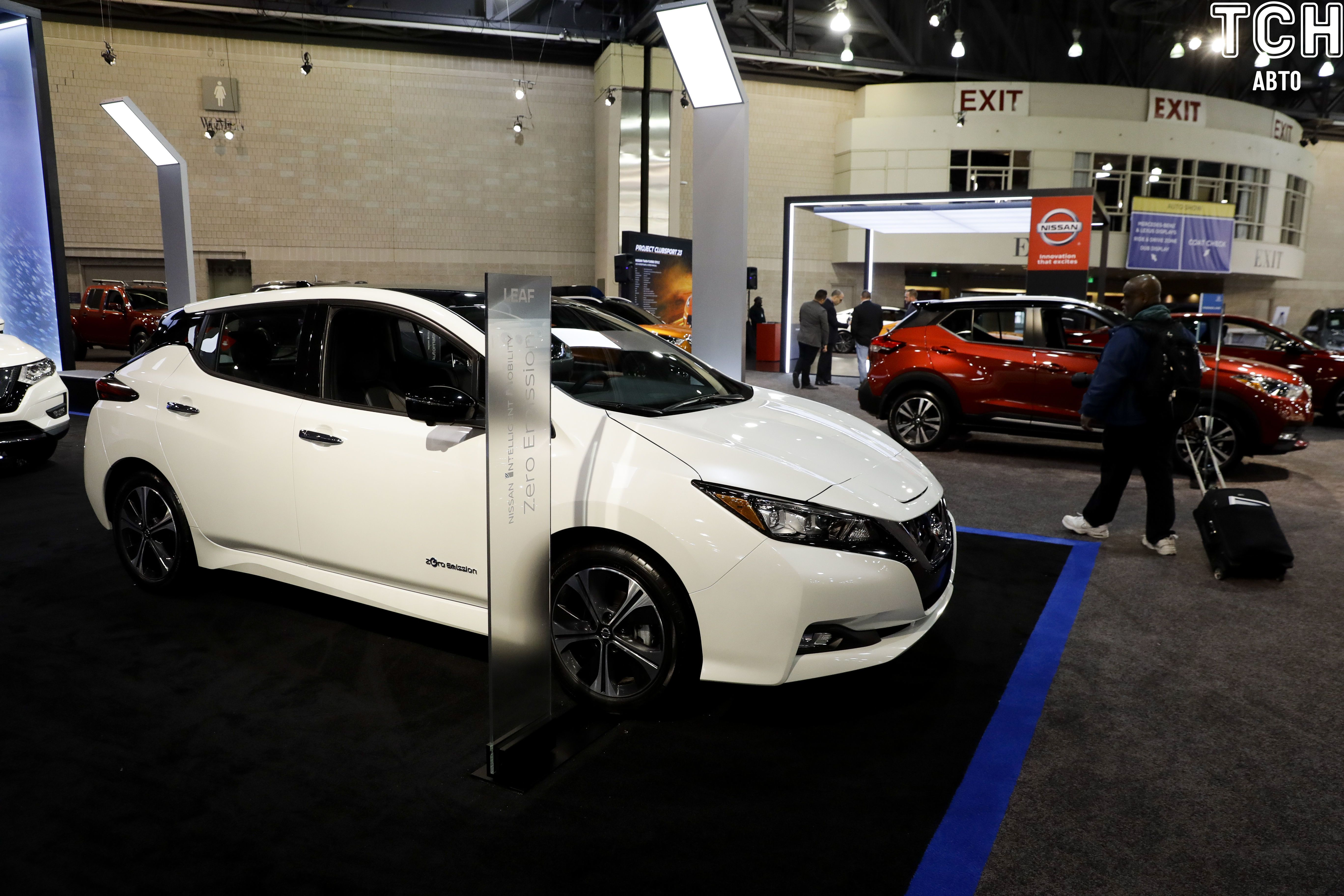 Електрокар Nissan Leaf e+ 62 кВт-ч