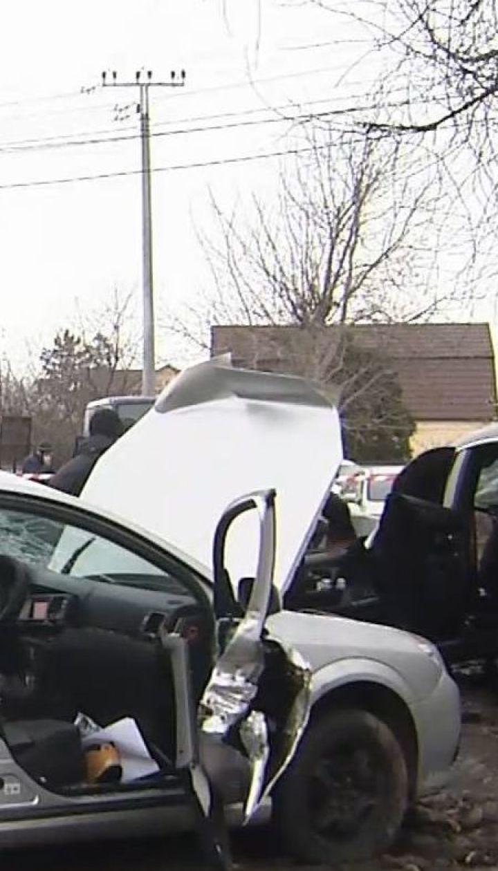 Смертельні перегони: у Борисполі водій на шаленій швидкості тікав від поліцейських