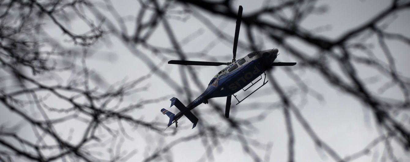 У Стамбулі військовий вертоліт зазнав аварії, четверо осіб поранено