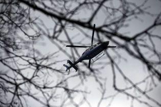 В России вертолет упал в реку